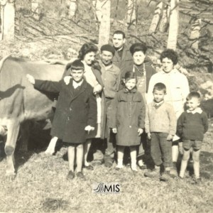 Erundina Domínguez coa familia.