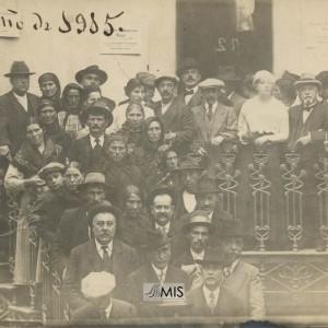 Leopoldo Boente Sequeiros no Balneario de Mondariz