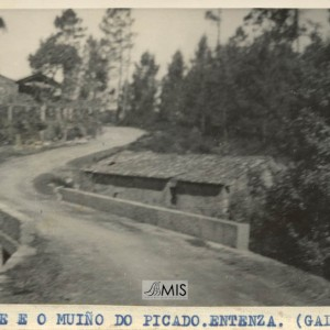 A ponte e o muíño do Picado (Entenza)