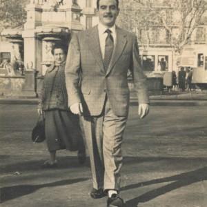 Retrato de Emiliano Granado en Barcelona
