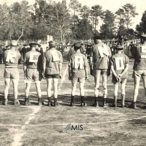 Alineación inicial do Marcianos F.C