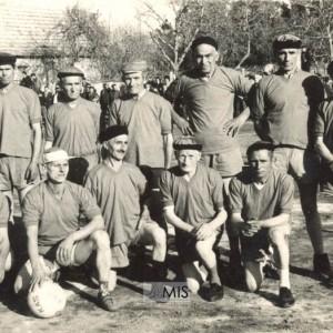 "Alineación inicial do ""Marcianos F.C"""