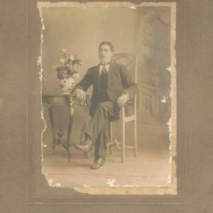 Retrato de Francisco Cabaleiro Fernández