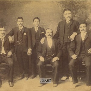 Veciños da Picoña (Década de 1880 aprox)