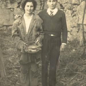 Retrato de José Piñeiro e Carmen González