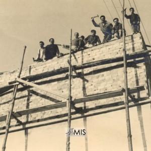 Obra de construcción/ampliación do edificio do Cine Caselas