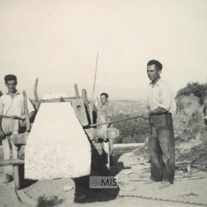 Da canteira de Chan de Castros á Ponte do Picado en Entenza (1952)