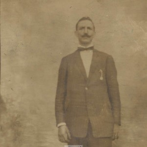 Retrato de Andrés Troncoso Presa, emigrante salcedense en Lisboa