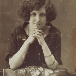 Retrato de Antonia Zunzunegui Freire (filla do Doutor Zunzunegui)