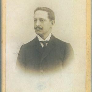 Retrato do Doutor Jacinto Zunzunegui Romo (Médico de Salceda entre 1901 e 1932)