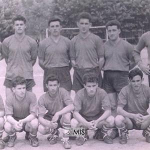 Retrato da alineación inicial do Salceda F.C (1959 aprox.)