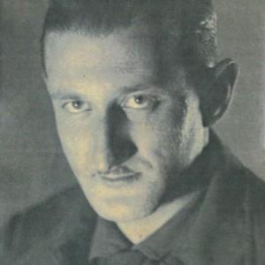 Retrato do pintor Emilio Fernández Rodal, esposo de Marina Fernández Zunzunegui.