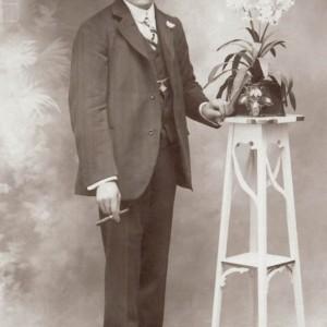 Retrato de Policarpo Besada Fontaíña