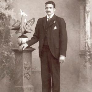 Retrato de Camilo Besada Fontaíña